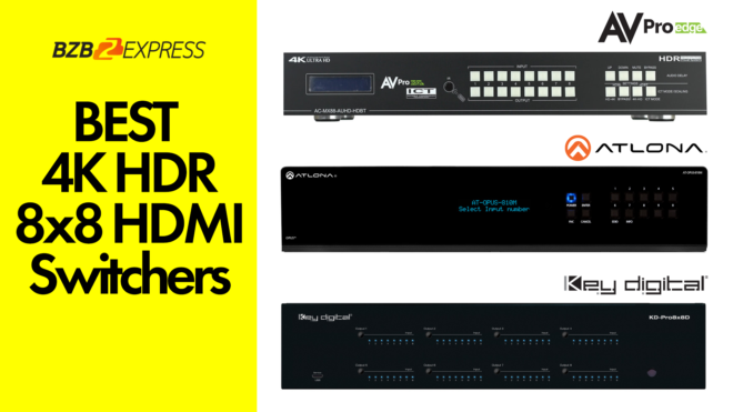 The Best 4K HDR 8x8 Matrix Switchers | Key Digital, Atlona, AVProEdge