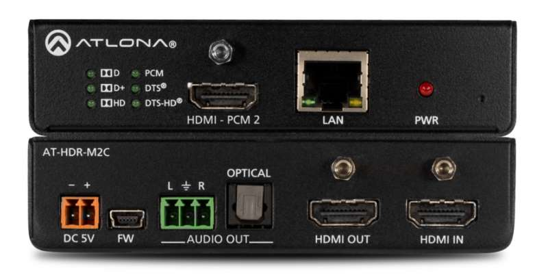 HDMI Audio Extractor AT-HDR-M2C