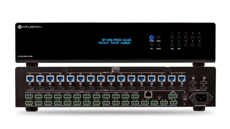 AT-UHD-PRO3-1616M - Matrix Switcher