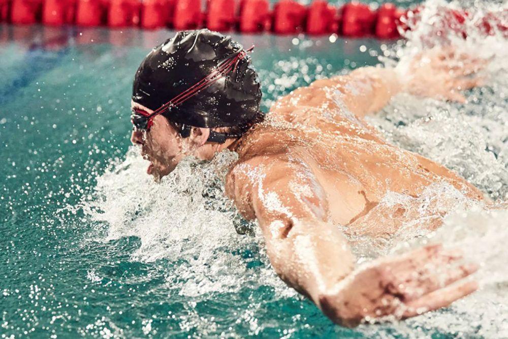 home audio video aftershockz xtrainerz swimmer