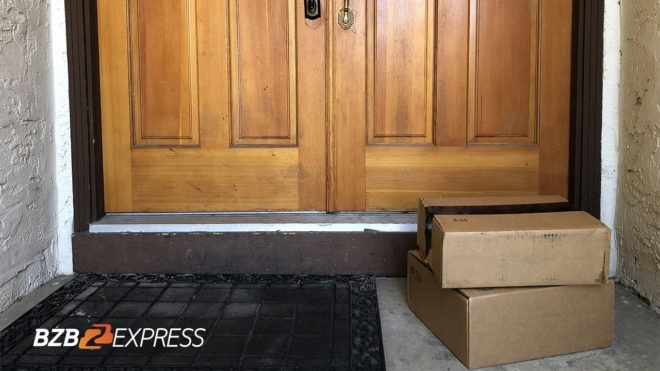 avoid stolen packages doorstep