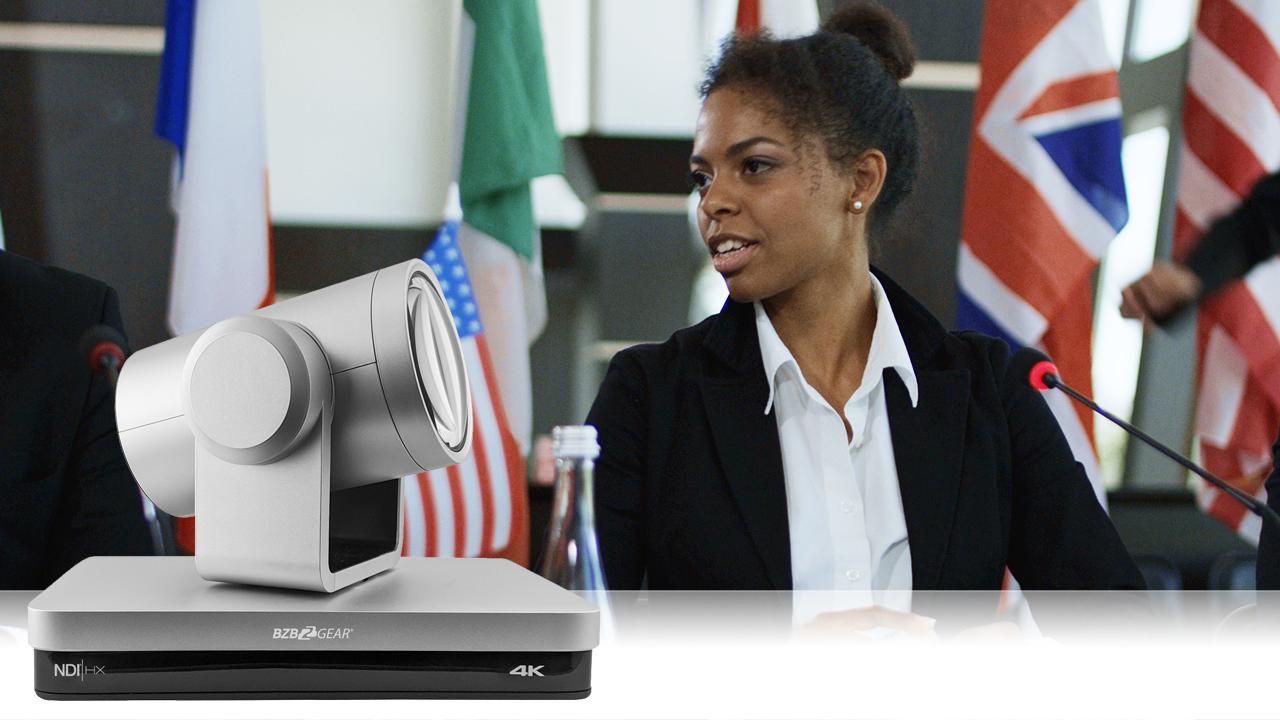 4K PTZ Cameras for Live Streaming