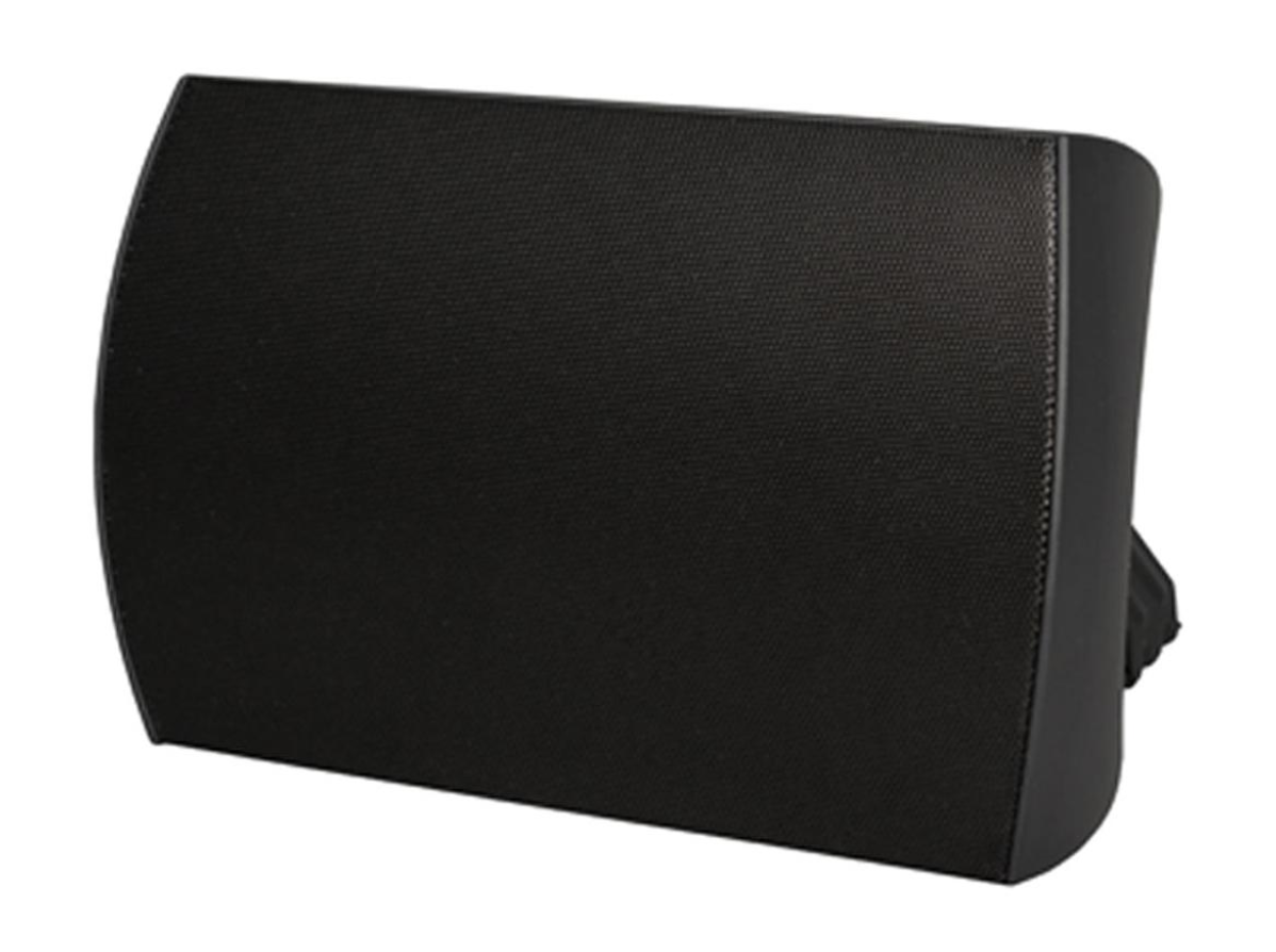 surface mount speaker black