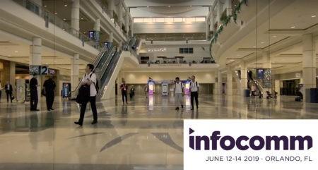 infocomm 2019 lobby