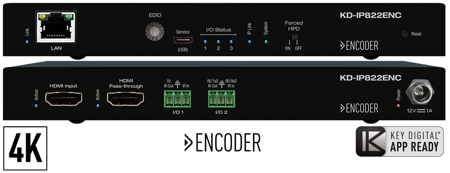Enterprise AV over IP encoder
