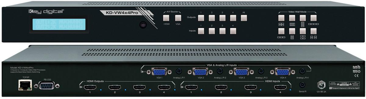 The Four Best Video Wall Controllers 2019 | Key Digital