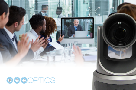 PTZOptics 20X-SDI Live Streaming Camera video conference