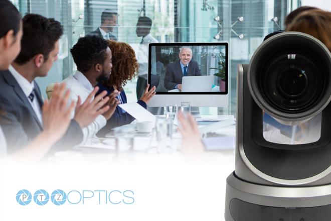 PTZOptics 20X-SDI Live Streaming Camera video conference