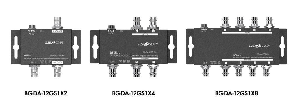BG-DA-12GS SDI splitter series