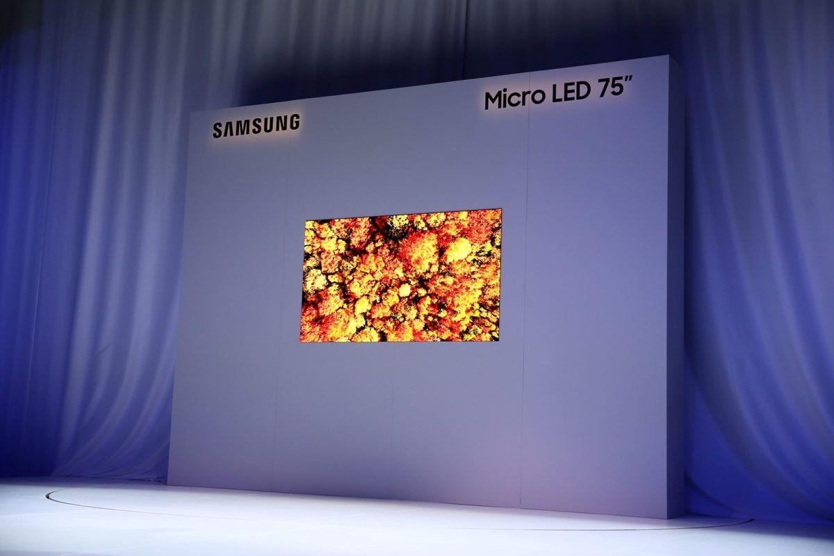 home audio video samsung microled 75