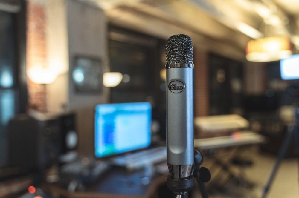 home audio video blue ember mic studio