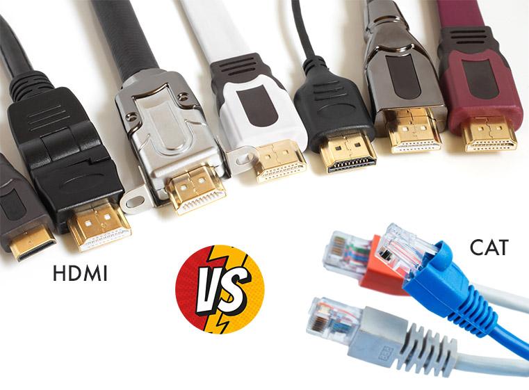 HDMI vs CAT cables