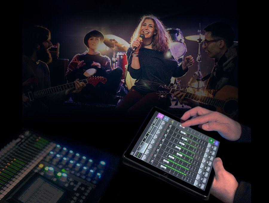 digiMIX18 digital mixer ipad app