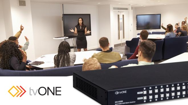 MX-65xx Matrix Switcher series classroom