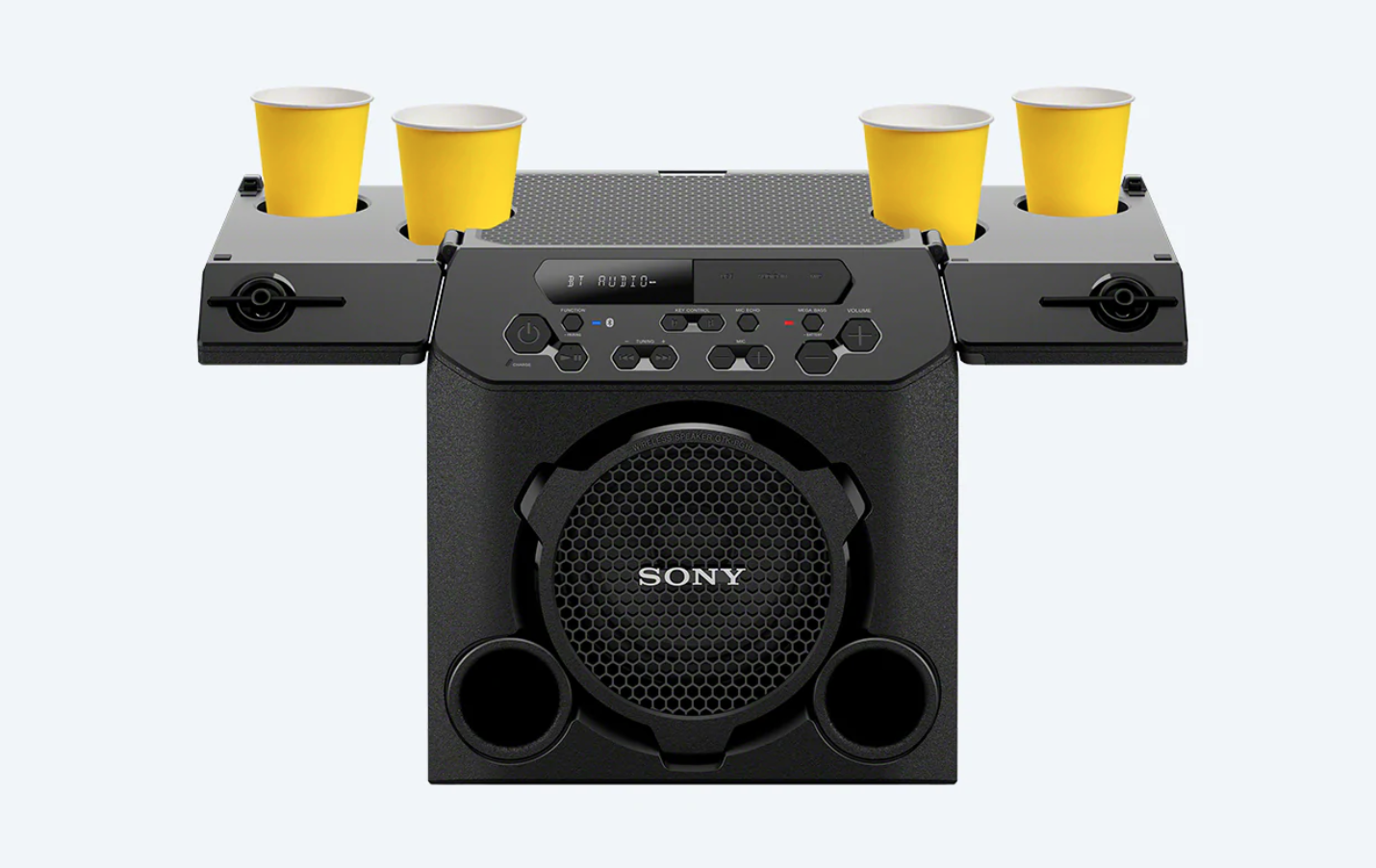 home audio video sony gtk-pg10 speaker cup holders
