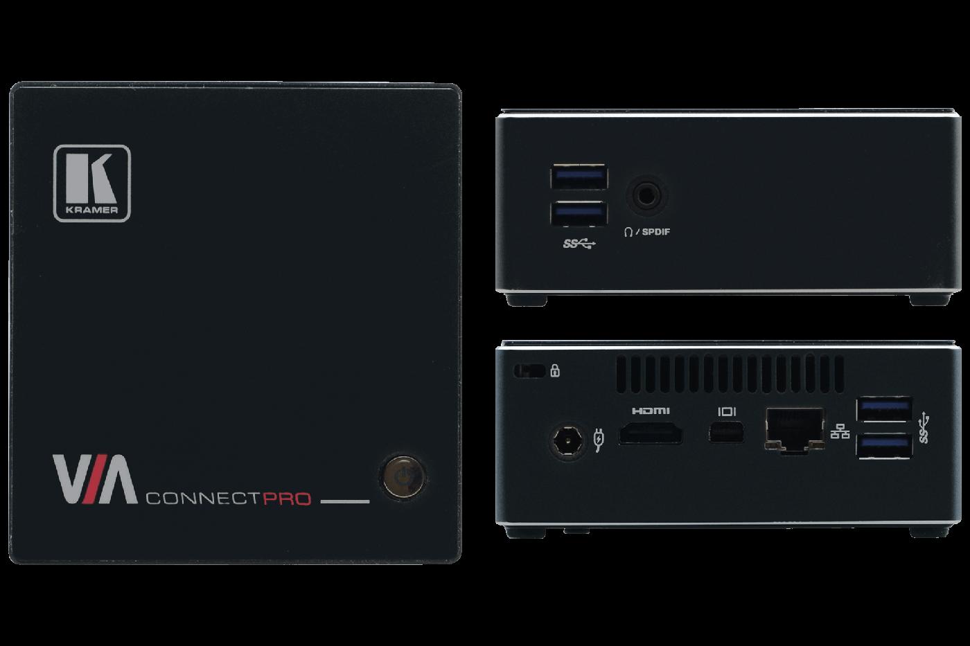 Kramer Platforms via connect pro