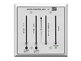 OWI MC4 Four Channel Mic or Line Audio Mixer