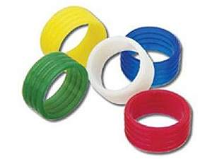 Kramer CON-COMP-RING/WHT 100 White Color Rings for Compression Connectors