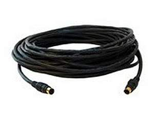 Kramer CP-SM/SM-150 (M) Molded 4-Pin (M) to 4-Pin (M) Plenum s-Video Cable - 150ft