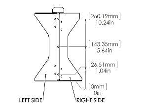Soundtube AC-SM1001p-C Corner-mount bracket for SM1001p